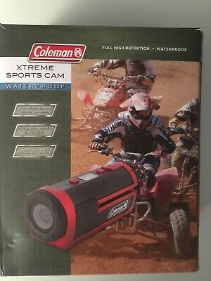 coleman xtreme sports cam waterproof used