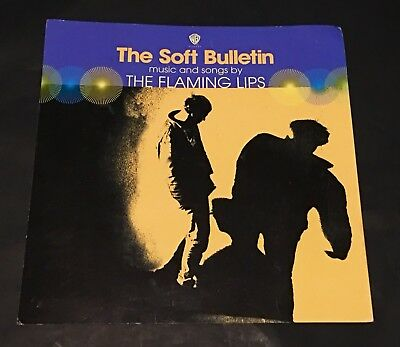 "FLAMING LIPS ""The Soft Bulletin""  Poster Flat 1999 Suitable For Framing"