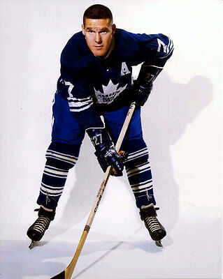 Tim Horton Toronto Maple Leafs Auction 8x10 Photo