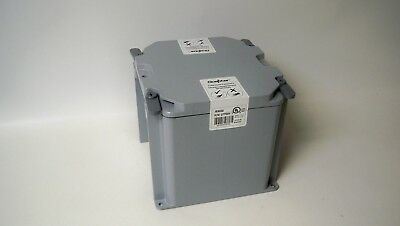 "Scepter JBX884 PVC Junction Box 8/"" x 8/"" x 4/""  293.19 cu.in"