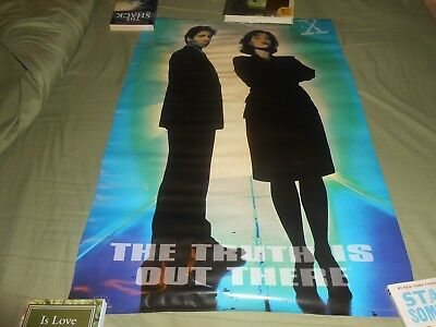 "1995 OSP The X-Files The Truth is Out There 23"" x 35"" Wall Poster"