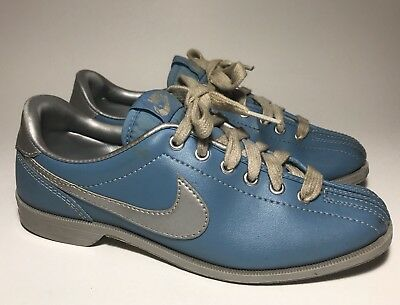 "classic shoes cheap for sale online retailer VTG NIKE BOWLING Shoes WMNS 1983 ""Powder Blue"" US 6.5 ..."
