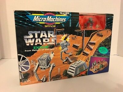 STAR WARS ENDOR MICRO MACHINES Return of the Jedi 1993 NIB Galoob ROTJ NRFB