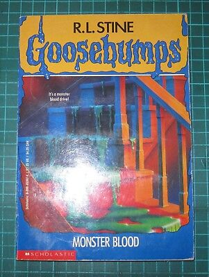 R L Stine Goosebumps  #3 Monster Blood  1992 UNREAD