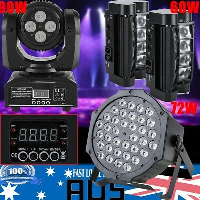 72/90/105W RGBW LED Stage Light DMX Laser Lighting Club Party Light Project Show