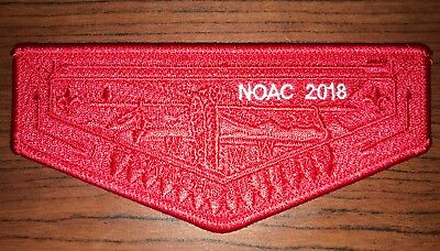 NOAC 2018 Takachsin Lodge 173 Very Tough Red Ghost - 50 Made