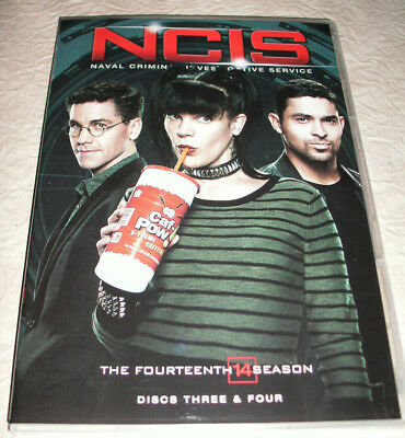 NCIS The Fourteenth Season (DVD,2017) Replacement Disc- DISC THREE ONLY New