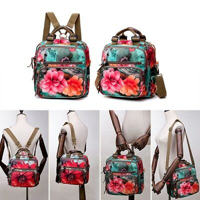 Floral Diaper Bag Cute Mommy Backpack Crossbody Baby Bags Handbag for Women 1PC
