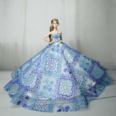 Fashion Royalty Princess Dress/Clothes/Gown For Barbie Doll S549