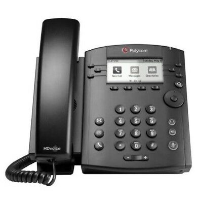 Polycom VVX 310 VoIP SIP Gigabit Business Media Phone 2201-46161-025 with POWER