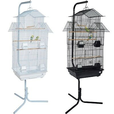Pet Ting Tulip X Large Bird Cage with Stand Canary Budgie Cockatiel Parrot