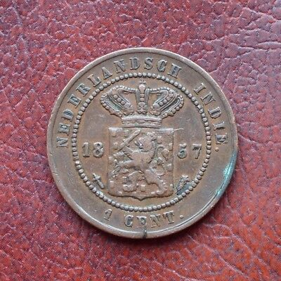 Netherlands East Indies 1857 copper cent