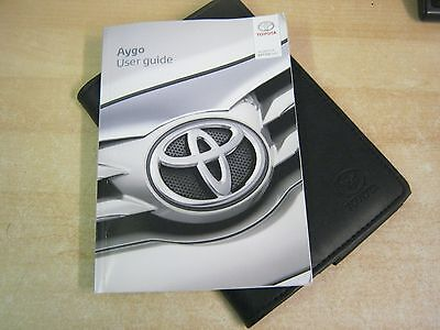 toyota aygo handbook owners manual 2013 2017 and service book refw71 rh picclick co uk toyota aygo owners manual toyota aygo owners manual