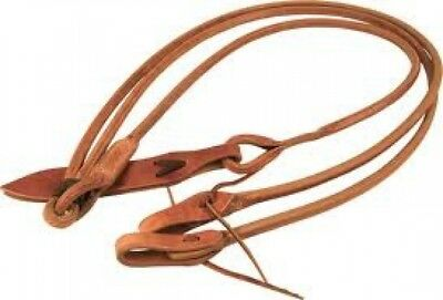 Romal Reins Premium Harness Leather Round