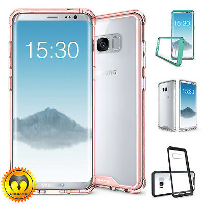 Mosafe® For Samsung Galaxy Note 8 S8 Plus Shockproof Clear Back Hard Case Cover