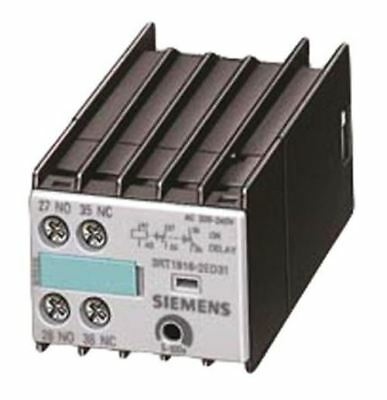 DIN Rail Mount Auxiliary Contact with Screw Terminal, NO/NC