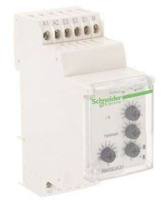 Schneider Electric Current Monitoring Relay with DPDT Contacts, 24 â?? 240 V ac/
