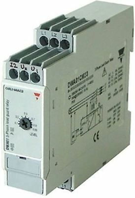 Carlo Gavazzi Power Factor Cosf Monitoring Relay with SPDT Contacts, 3 Phase, 38