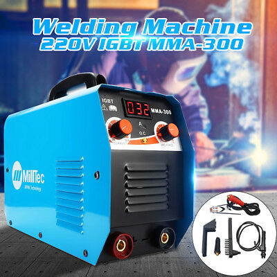 MMA-300 Compact Electrode Inverter Welding Machine With LCD Digital Ampermeter