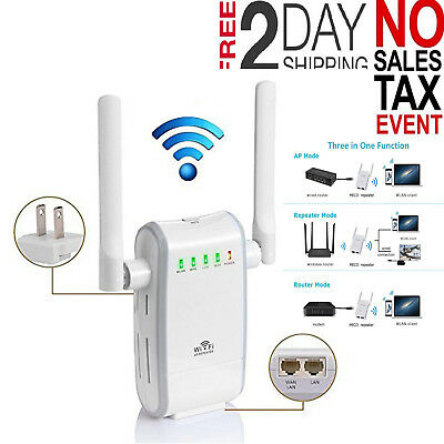 TP-LINK WIFI RANGE Extender 750 Mbps Signal Booster Wireless