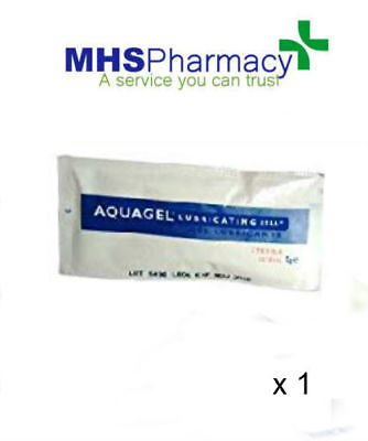 Aquagel Personal Lubricating Jelly, 5g Sterile SINGLE Sachets PRIVATE LISTING