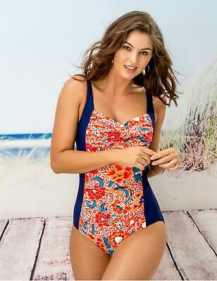 Pour Moi New Swimming Costume Hawaii Control Swimsuit Black 1477