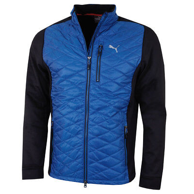 Puma Golf 2018 Mens PwrWarm Extreme WarmCELL Quilted Hybrid Jacket 46% OFF RRP