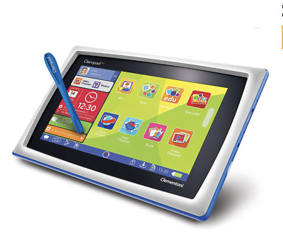 Clementoni , Clempad Android,4.4, Tablet für Kinder, ab  6 Jahre, 7 Zoll LCD