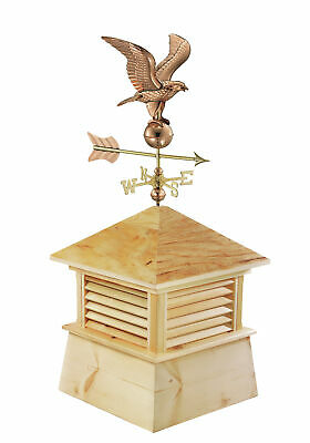 Good Directions Kent Wood Cupola with Eagle Weathervane GDD2021