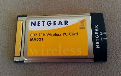 802.11b Wireless PC Card MA521 NETGER