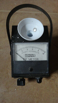 Myron L DS EP Conductivity Meter EP-10 MADE IN USA Soil Water Plant Test