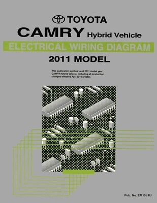 2011 toyota camry hybrid wiring diagrams schematics layout factory oem