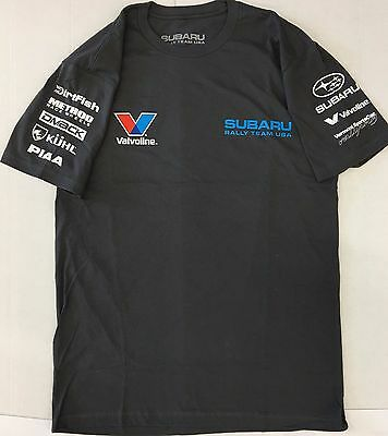 Subaru Rally Tee T Shirt Impreza Sti Official Genuine WRX NEW OEM Racing 2018 !!