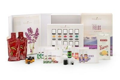 *New* Young Living essential oils starter kit lot + diffuser includes membership