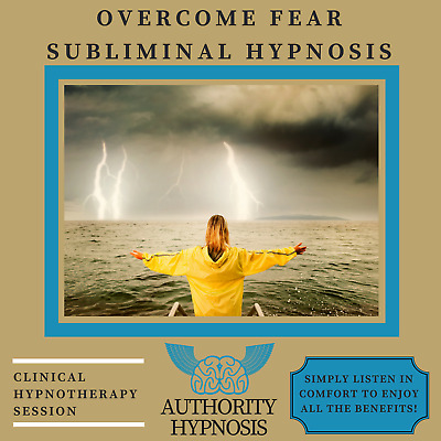 Overcome Fear Hypnosis, No More Anxiety, No Regrets, Confident Life, Phobia Free