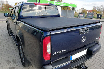Mercedes X Class Soft Tonneau Cover Eagle1 Roll & Lock Premium Load Bed Cover