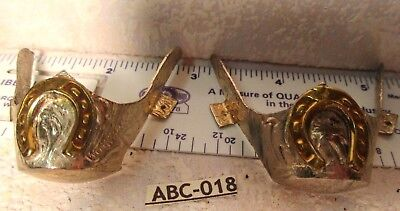 SILVER ALPACA Western Boot Tips SMALL HORSESHOE Western Cowboy Boots Hand Made