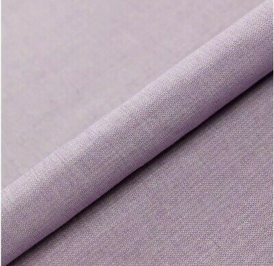 5M PRESTIGIOUS THICK UPHOLSTERY SEATING CURTAIN LINEN TWILL BLUSH PINK FABRIC