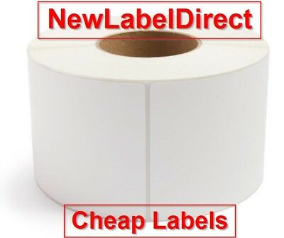 50 x Self Adhesive Thermal Postage Labels LARGE 6 x 4 White FREE P&P