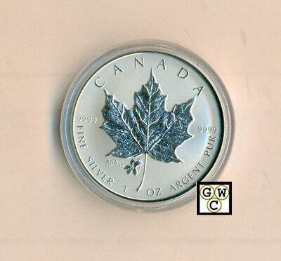 2015 $5 Fine Silver Coin Ana Chicago State Flower: The Violet (17412) Ooak