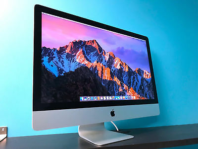 "Apple iMac 27"" / 3.1GHz Core i5 / 16GB RAM / HUGE 2TB HDD / OS-2017 / Warranty!"