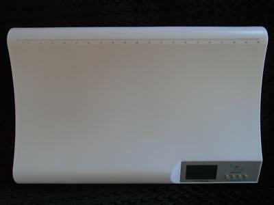 """WEIGH TO GROW Baby Infant Weight Scale White 44 LB Capacity 20"""" Measurement"""