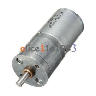 Motor Speed Reduction Gear Motor Electric 12V DC 60RPM Powerful Torque 25mm L100