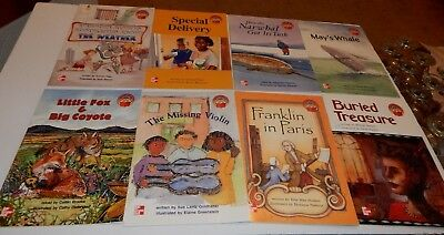 Lot Of Mc Graw Hill -  63  Leveled Books - Home School - Mixed