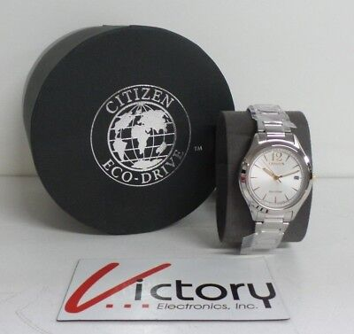 NEW Citizen FE6124-51A Eco-Drive Chandler Stainless Steel Women's Watch (V100)