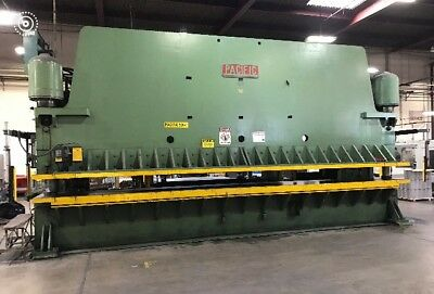 26 Foot Pacific Press Brake Model 500 - 26, S/N 3597, 500 Ton, Great condition