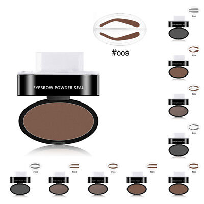 Eyebrow Shadow Mineral Powder Stamp Seal Palette Natural Brow Definition Makeup