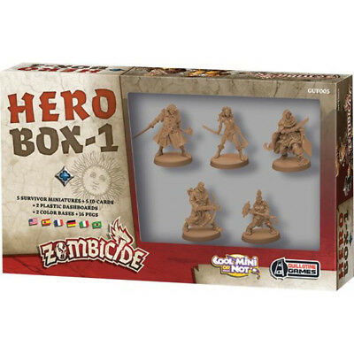 Zombicide Black Plague Hero Box 1 - CMON - New Board Game