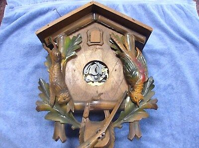 Cuckoo Clocks Case/Movement. Parts Only Or Repairs