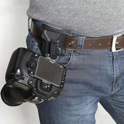 Camera Quick Belt Buckle Holster Waist Mount Hanger Clip for All DSLR cameras AU